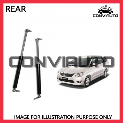 TOYOTA INNOVA FORTURNER 4X4 REAR BOOT DAMPER GAS SPRING BONNET ABSORBER LEFT AND RIGHT   CONVIAUTO