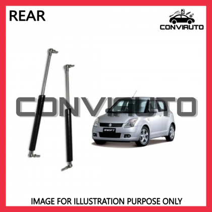 SUZUKI SWIFT RS414 REAR BOOT DAMPER GAS SPRING BONNET ABSORBER LEFT AND RIGHT   CONVIAUTO